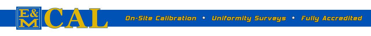 Electronic & Mechanical Calibration Service
